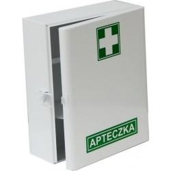 BoxMet Medical Szafka metalowa na apteczkę bez wyposażenia 50cm x 33cm x 13cm 1szt.