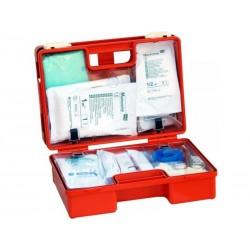Apteczka Biurowa DIN 13164 (walizka) wyposażenie zalecane do ochrony 5 osób 1szt.
