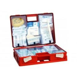 Apteczka Biurowa DIN 13157 (walizka) wyposażenie zalecane do ochrony 10-20 osób 1szt.