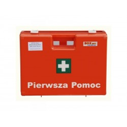 Apteczka Biurowa DIN 2x13157 (walizka) wyposażenie zalecane do ochrony 50 osób 1szt.