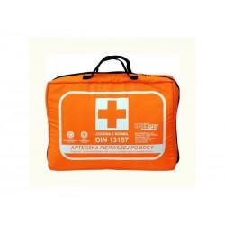 Apteczka Biurowa DIN 13157 (torba) wyposażenie zalecane do ochrony 10-20 osób 1szt.