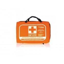 Apteczka Biurowa DIN 2x13157 (torba) wyposażenie zalecane do ochrony 50 osób 1szt.
