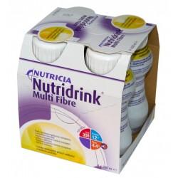 Nutridrink Multi Fibre o smaku waniliowym 4 x 200 ml