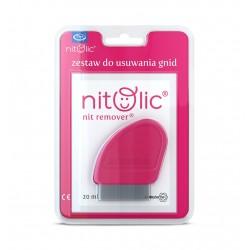 Pipi Nitolic zestaw do usuwania gnid 20ml