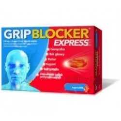 Gripblocker Express kapsułki 10 kaps.