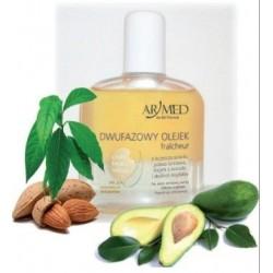 Armed Naturalny dwufazowy olejek  z leczniczą solanką jodowo-bromową, olejem z avocado, olejem ze słodkich migdałów 130ml