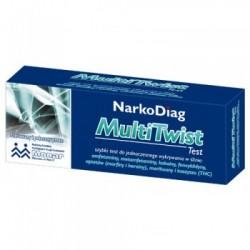 NarkoDiag MultiTwist test do wykrywania narkotyków 1op.