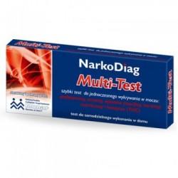 NarkoDiag Multi-Test test do wykrywania narkotyków 1op.