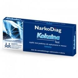 NarkoDiag Kokaina test do wykrywania narkotyku 1op.