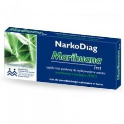 NarkoDiag Marihuana test do wykrywania narkotyku 1op.