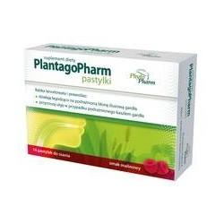 PlantagoPharm pastylki 16 past.