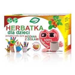 Herbatka dla dzieci powyżej 3 roku życia różana z ziołami  20 x 2 g