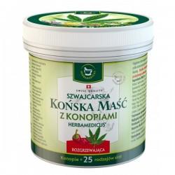 Herbamedicus Końska Maść Rozgrzewająca z Konopiami 250ml