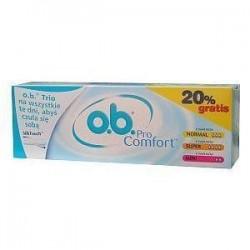 O.B. ProComfort Normal tampony 8szt. + ProComfort Super 8szt. + ProComfort Mini 8szt.