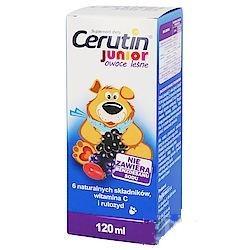 Cerutin Junior syrop o smaku owoców lesnych 120 ml