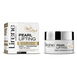 Lirene Pearl Lifting 45+ krem + koncentrat regenerujący noc 50 ml
