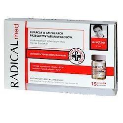 Radical Med kuracja przeciw wypadaniu włosów dla mężczyzn 15 ampułek