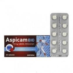 Aspicam BIO 7,5 mg tabletki 20 tabl.