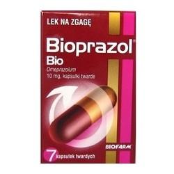 Bioprazol Bio 10 mg kapsułki twarde 7 kaps.
