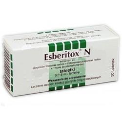 Esberitox N tabletki 50 tabl.