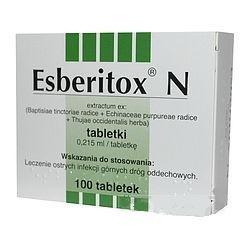 Esberitox N tabletki 100 tabl.