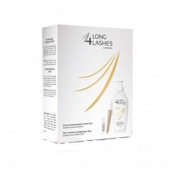 4 Long Lashes serum przyspieszające wzrost rzęs 3 ml + Płyn micelarny pielęgnujący rzęsy 180ml GRATIS