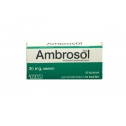 Ambrosol Teva 30 mg 40 tabletek