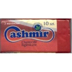 Cashmir chusteczki higieniczne 3 warstwowe 10 sztuk 1 op.