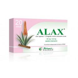 Alax tabletki drażowane 20 tabl.