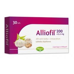 Alliofil tabletki dojelitowe 30 tabl.