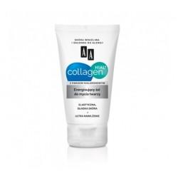AA Collagen Hial + Energizujący żel do mycia twarzy 150 ml