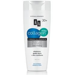 AA Collagen Hial + Micelarny płyn do demakijażu twarzy i oczu 30+ 200 ml