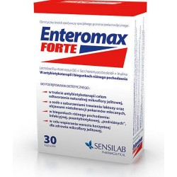 Enteromax Forte kapsułki 30 kaps.