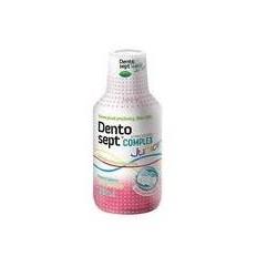 Dentosept Complex Junior płyn do codziennej ochrony jamy ustnej smak gumy balonowej 250 ml