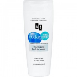 AA Collagen Hial + Nawilżajacy tonik do twarzy 200 ml