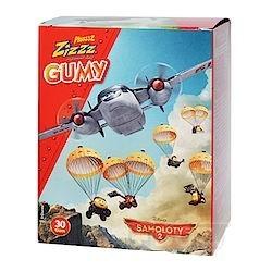 Plusssz Zizzz Samoloty Guma do żucia rozpuszczalna 30szt.