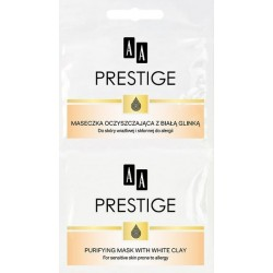 AA Prestige Maseczka oczyszczająca z białą glinką 2x5 ml
