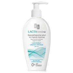 AA LACTAfemina Specjalistyczny płyn do higieny intymnej łagodzący objawy infekcji ph 3,5 200 ml