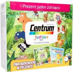 Centrum Junior tabletki 2 x 30 tabl. + Dwa audiobooki Księga Dżungli i Pinokio w PREZENCIE