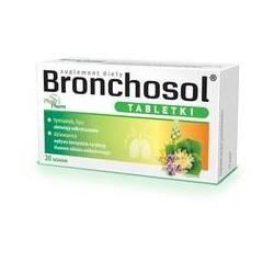 Bronchosol tabletki 20tabl.