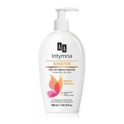 AA Intymna Sensitive płyn do higieny intymnej z dozownikiem 300 ml
