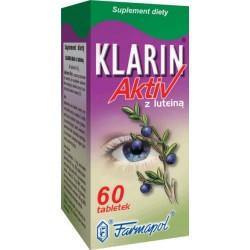 Klarin Aktiv z luteiną tabletki 60 szt.
