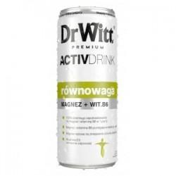 Dr Witt Premium ActivDrink Równowaga magnez+witamina B6 napój 250ml