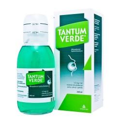 Tantum verde 1,5 mg/ml roztwór do płukania jamy ustnej i gardła 240 ml