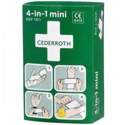 Zestaw opatrunkowy do tamowania krwi Cederroth 4w1 Mini 1911 1kpl.