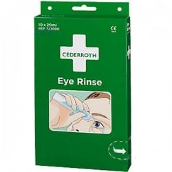Ampułki z płukanką do oczu Cederroth Eye Rinse 723000 10szt. po 20ml