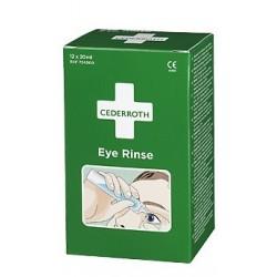 Ampułki z płukanką do oczu Cederroth Eye Rinse 724000 12szt. po 20ml
