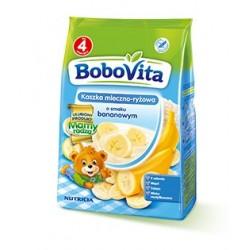 BoboVita Kaszka mleczno-ryżowa o smaku bananowym 230g