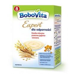 BoboVita Expert dla odporności Kaszka mleczna pszenno – jaglano – owsiana 250g