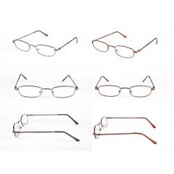 Okulary do czytania metalowa oprawka 1szt. + ETUI GRATIS